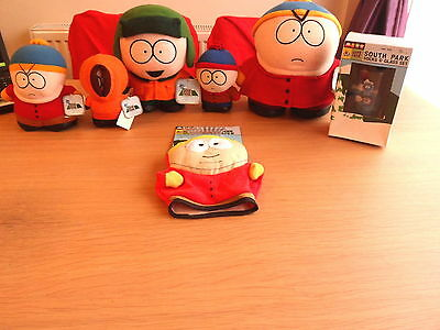 Large collection of old South Park plush toys & other memorabilia