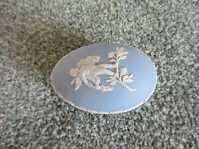 Wedgwood Jasperware Egg shaped trinket box