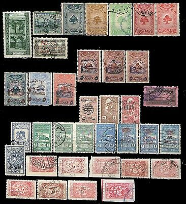 [295] Middle East, Lebanon, Syria , S.Arabia revenues fiscals lot