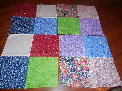 Pattern quilt block - lot of 4 Four patch