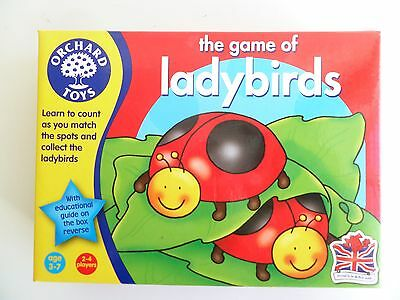 The Game of Ladybirds from Orchard Games