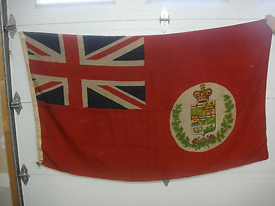 vintage old   flag used from 1873-1896 as the Canadian flag. 75 x 44 inches