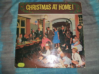 33rpm LP Embassy WLP-6036 - Christmas At Home - 1961