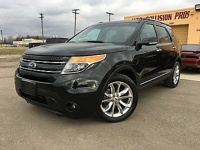 2014 Ford Explorer Limited 4X4 2014 Ford Explorer Limited 4X4 fully loaded nice and clean rebuilt title !!!