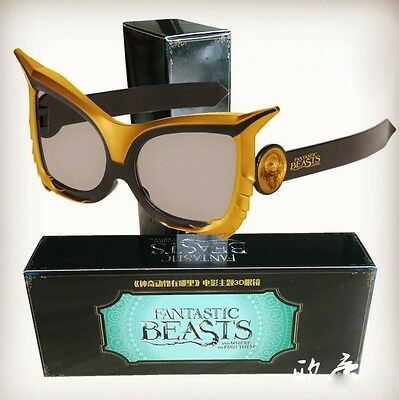 Frame 3D glasses movie Fantastic Beasts and Where to Find Them circular polarize