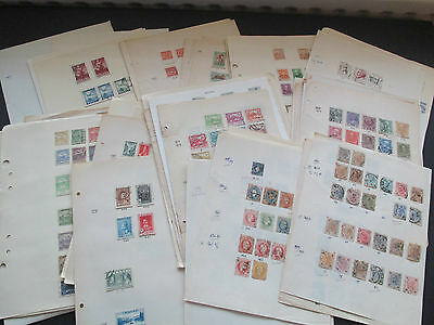 Substantial Old Europe Collection On 120 Album Pages - Mint & Used