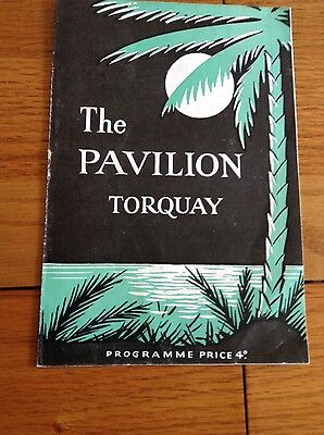 Twinkle Theatre Programme 1961 - The Pavilion, Torquay