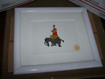 WINNIE THE POOH & THE BLUSTERY DAY Limited Ed SERIGRAPH CEL 1968 Walt Disney
