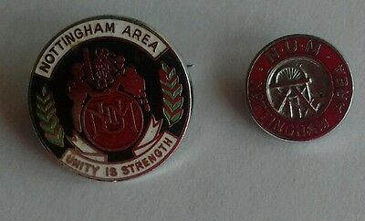 Miners Trade Union Badges