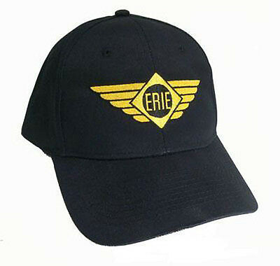 Erie Railroad Logo with Wings Embroidered Cap 40-5200