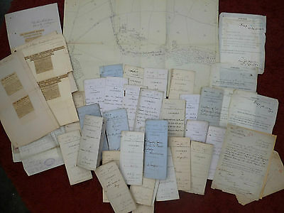 1870s, Documents, Lincoln ( ERECTING TELEGRAPH POLES ) Lincolnshire