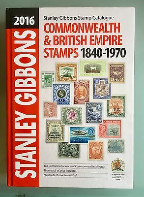 2016 Stanley Gibbons Commonwealth British Empire Stamps Catalogue 1840-1970