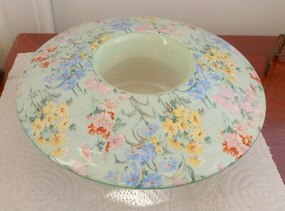 Antique Shelley Melody Chintz Posy Bowl   Excellent