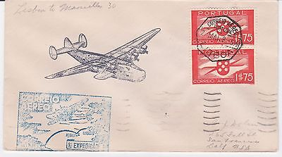 First Flight FAM 18-4 Lisbon Portugal to Marseilles France May 22, 1939