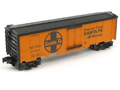 Lionel 6-29812 Santa Fe Hot Box Reefer O Scale Model Trains