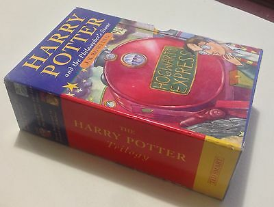 Harry Potter Hardback Books 1-3 Ted Smart Box Set 1st Editions 2nd & 3rd Prints
