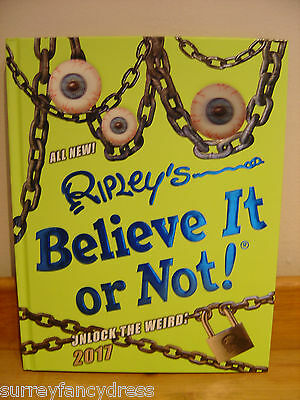 Ripley's Believe It or Not! Special Edition 2017 Annual NEW - Ex Con
