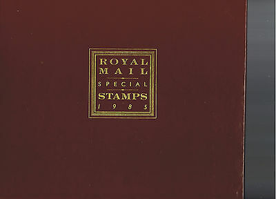 Royal Mail 1985 Yearbook, NO STAMPS