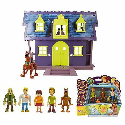 Scooby-Doo Mystery Mansion Playset w 5-Pack Mystery Minis ZOMBIE version NIB