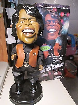 James Brown Dancin' Shoutin' Dancing Doll It Works Great With Box