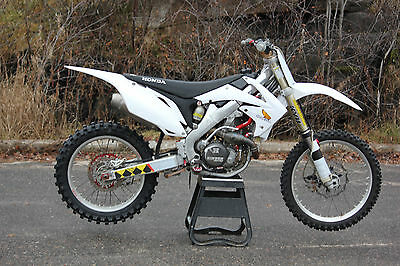 Honda: CRF 2010 crf450r supercross race bike fmf hinson crf 450 450r