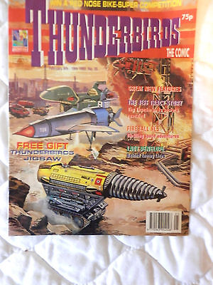 THUNDERBIRDS the comic No 35.with free gift (1993)