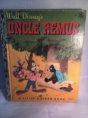 Walt Disney's Uncle Remus Brer Rabbit A Mickey Mouse Club Book 1946 1947