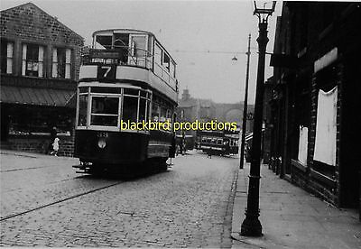Tram Huddersfield Corporation  route 6 68 photo print