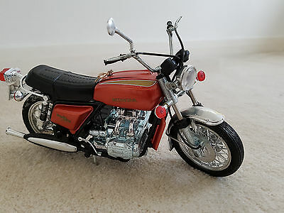 HONDA GL1000 GOLDWING MOTORCYCLE  - 1970's POLISTIL 1:10 SCALE HIGHLY DETAILED