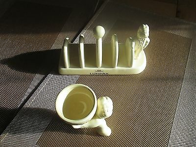 Lurpak toast rack and one egg cup