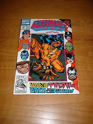 Guardians Of The Galaxy 27.  Aug 1992. Vfn Cond. Infinity War Crossover