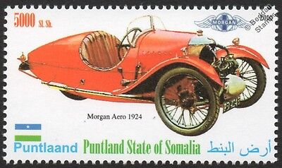 1924 MORGAN AERO (3-Wheeler) Super Sports Car Automobile Stamp