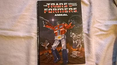Transformers annual from popular childrens tv series