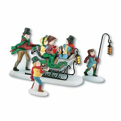 Dept. 56 DICKENS VILLAGE - A CHRISTMAS CAROL - Caroling with the Cratchit Family