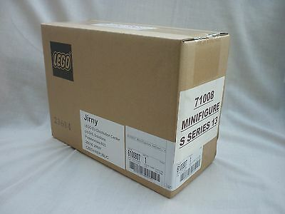 Lego Series 13 Minifigures - Sealed Box of 60. Still in Brown Box