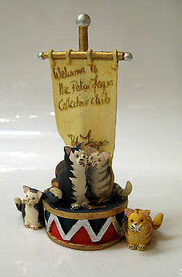 Band Of Hope. Collectors Club Piece. Sweet Home Cat. Peter Fagan, Colour Box.