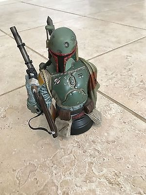 Star Wars Gentle Giant Boba Fett Collectible Bust Limited Edition with box