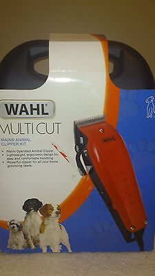 WAHL RED MULTI-CUT ANIMAL CLIPPER corded
