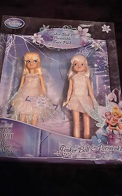 Disney Secret of The Wings Twin Pack Doll Tinkerbell & Periwinkle Tinker Bell
