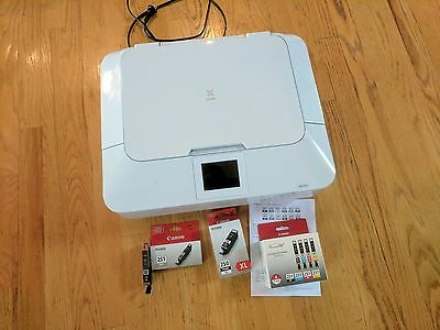 Canon PIXMA MG7120 All-In-One Inkjet Printer-MINT WITH EXTRA CANON INK!!!