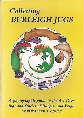 Collecting Burleigh Jugs - Guide To The Art Deco Of Burgess & Leigh.