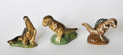 3 x Wade Dinosaurs from First Series