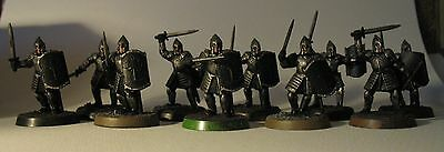 Warriors of Minas Tirith swordsmen Lord of the Rings Warhammer