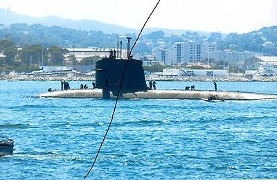 Ship/shipping Photo Of A Warship Photograph Picture Of A Navy Military Submarine