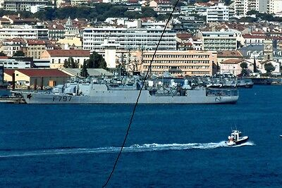 Ship/shipping Photo,french Navy Warship Photograph Picture Military Vessel.