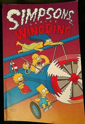 Simpsons Wing Ding Graphic Novel