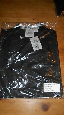 Catering clobber Chefs jacket short sleeve XL Black