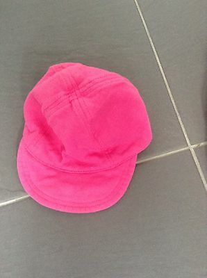 Baby Girls Pink Cap Aged 6-12 Months From George At Asda