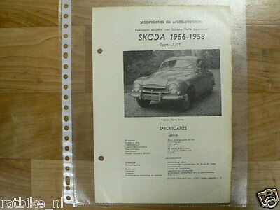 Sk02-Skoda Type 1201 1956-1958 -Technical Information