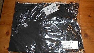 Catering clobber Chefs trousers large Black